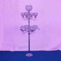 Metal mum düğün ayağı / düğün geçit çiçek standı / düğün dekorasyon için düğün zemin centerpices olaylar