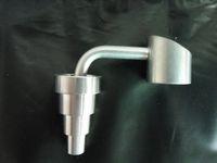 2016 Sek Оптовая 1 шт. 10mm14mm18mm мужчина или женщина 6 в 1 Banger Титана ногтей силика боковой рычаг DOMELESS титана ногти бесплатная доставка