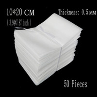 Wholesale- 10*20cm (3. 94*7. 87 inch) 0. 5mm 50Pcs EPE Packing F...