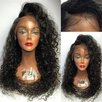 100% Brazilian full lace human hair wigs natural human fluff...