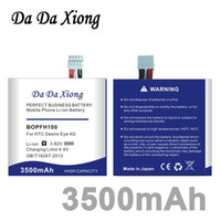 Da Da Xiong BOPFH100 3500 mAh B0PFH100 Li-ion Bateria Do Telefone para HTC Desire Eye 4G M910X M910n + Código de Rastreamento