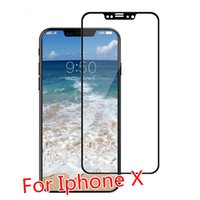 For Iphone X High Quality 3D Tempered Glass HD 9H Screen Pro...
