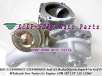 K03 0011 0044 53039700011 53039700044 Turbo Turbocharger per AUDI A3; SKODA Octavia 1.8T VW Golf Bora AGU ALN 1.8L 150HP