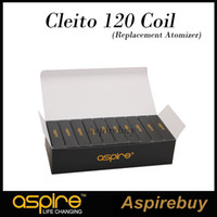 Стремитесь клейте 120 1,6 ом катушки головки для Aspire клейте 120 бак Aspire экзо 0.16 Ohm катушки для EXO замена бака головки катушки 100% оригинал