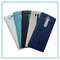 Origine Nouveau Arrière Arrière Porte de la Batterie avec NFC sans fil pour LG V10 H968 H901 Retour Case Case Remplacement Blanc Noir GoldLivraison Gratuite