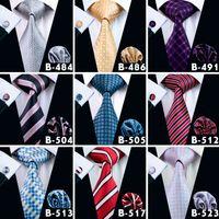 저렴한 남성 Fanshion 액세서리 남성 넥타이 제이슨 보그 실크 격자 무늬 넥타이 거의 200 패션 고품질 넥타이 무료 배송