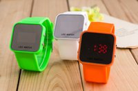 Free shipping children' s electronic watches female stud...