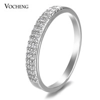 vocheng wedding ring 2 sizes gold platinum - Wedding Rings For Women Cheap