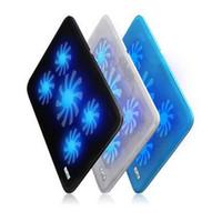 5 Fans Notebook Laptop Cooler Refroidisseur D'ordinateur Portable Rack Pad Base De Refroidissement Contrôleur de Vitesse Ordinateur De Refroidissement Pad Renforcer Édition