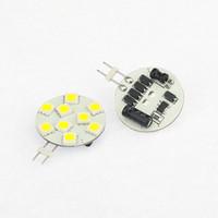 LED G4 램프 9LEDS 5050SMD 라운드 전구 디 밍이 가능한 24V 12V 동작 전압 슈퍼 밝은에서 내각