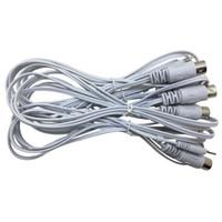 10個の185mm EMS機械電極パッドのワイヤーデジタル数十電極コネクタワイヤー2mmピン2mmピン2mmピン