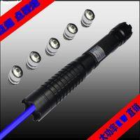 أقوى الليزر الأزرق إلى 445nm 450nm 200000m مؤشرات البصر بالليزر مضيا القلم الليزر الأزرق مع قبعات 5 نجوم