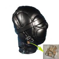 Neue Sexy Sensory Deprivation Hood Gimp Mask Augenbinde Fetisch Rollenspiel Submission # R172