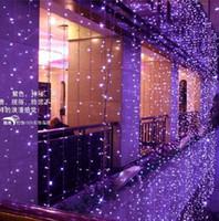 6mx3m 600 ledd gardin ljus vattenfall utomhus jul sträng fe ljus bröllopsfest trädgård hotell dekoration 220v 110v lampa