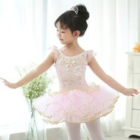 Free ship children black/pink lace embroidery princess ballet leotard dance dress fairy tale dress for party/festival stage performance