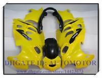 ABS Kit carena di alta qualità al 100% per Suzuki GSX600F / 750F 1997-2005 GSX 600F GSX750F 1998 1999 2000 2001 # HD833 GIALLO