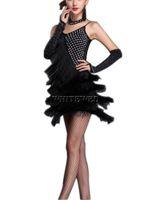 1920 1920's 20s Flapper Period Themed Party Dresses Disfraz para mujeres 20s Período temático Disfraces de ducha nupcial Atuendo Adulto