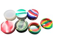 10pcs lot 11ML SILICON CONTAINERS JAR CONCENTRATES - NON-STICK SILICOEN CONTAINER FOR WAX