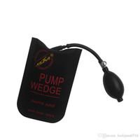 KLOM noir pompe à air wedge sac gonflable déverrouiller porte d'entrée de voiture outils de petite taille 185mm * 115mm