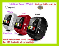 U8 Bluetooth Smart Watch Mode Casual Android Watch Digital Sport Poignet LED Watch Pair Pour iOS Android Phone U8 DZ09 U80 Smartwatch