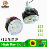 4pcs 50W 100W 120W 150W 200W 250W 300W 400W LED High Bay Lampada, E40 120W LED High Bay Light, Lampadina LED industriale