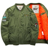 MA01 Air Force One Jackets Male Jackets Badge Embroidery Log...