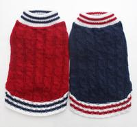 Junge / Mädchen Hund Katze Knited Pullover Jumper Pet Puppy Coat Jacke warme Kleidung Kleid 5 Größe