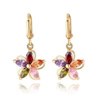 Vintage Earrings For Women 18K Gold Plated Fashion Statement...
