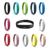 Silicone Replacement Rubber Band for Fitbit Flex 2 Bracelet ...