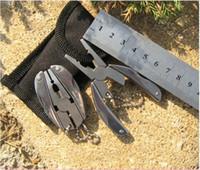 100 stücke Freies Verschiffen Multifunktions Klapptasche Werkzeuge Zange Messer Schraubendreher keychain + Fall Set freies verschiffen