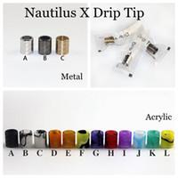 Nautilus X наконечник для капель акриловый металл специально капельные советы подходят только Aspire Nautilus X Tank Wide Bore мундштук аксессуары для электронных сигарет