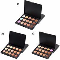 Popfeel SP 15Colore Contour Palette Mini Kit Make up Set Professionale Concealer Palette Makeup Crema Viso Concealer Palette Cosmetics 48PCS