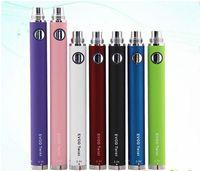 Batteria EVOD Twist per sigaretta elettronica Tensione variabile 3.3-4.8V 650mah 900mah 1100mah Compatibile con tutte le serie eGo Kit CE4 CE5 MT3