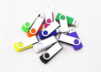 2GB 4GB 8GB 16GB Swivel Metal USB 2. 0 Memory Thumb Stick Fla...