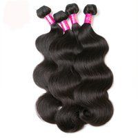 100% Human Hair Bundles Brazilian Body Wave Human Hair Exten...