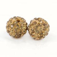 Heißer Verkauf Mode Shamballa Naturstein Perlen für DIY Armband Größe 6mm, 8mm, 10mm, 12mm 100 teile / beutel