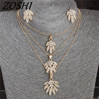 ZOSHI Fashion Bling Crystal Flower Jewelry Stes Brand Women ...