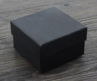 [Simples Sete] Retail Sólidos amantes Preto Caixa de Jóias / Moda Pedant Box / Colar Caixa / broche Case / Tendência Pulseira Packing
