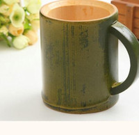 Bamboo tourism crafts cups mugs natural green bamboo cup gre...