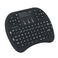 Nuevo teclado retroiluminado en inglés Rii i8 + 2.4G Mini teclado y mouse Combo para mini PC, Smart TV Box