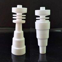 가장 저렴한 6 1 도리스 도자기 못 10mm 14mm 18mm 남성 여성 관절 VS 티타늄 네일 무료 DHL