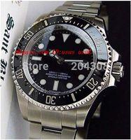 Роскошные часы Наручные часы 116660 нержавеющая сталь 44 мм механический Сапфир Мужские спортивные наручные часы черный циферблат керамический безель