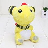 EMS 18cm New Pikachu Plush Ampharos Plush Toy Stuffed Doll S...