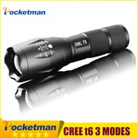 CREE XM- L T6 LED 2000LM E17 Aluminum Torches Zoomable Flashl...