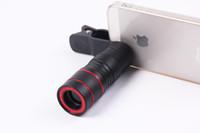 preto quente e telescópio telemóvel vermelho 8x HD Mini Multi-função de equipamento fotográfico de alta potência de visão noturna