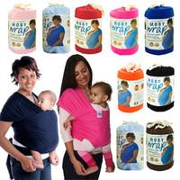 PrettyBaby 2016 Multifuncional Multifuncional Lactancia materna Sling Baby Striple Wrap Wrap Carrier Mochila Bolsa Niños Amamantamiento Algodón Hipseat