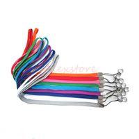 Ego-Halsabzugsleine O-Ring befestigt Ego-Halskettenschnurabzugsleinen-Kettenbügel für Ego-Reihe Batteriedampfstift e cig elektronische Zigarette DHL