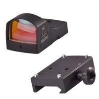 Docter 1x22 QD Luminosità automatica Sensitive Control Red Dot Sight Reflex Scope per Airsoft Outdoor Activities, HD-600