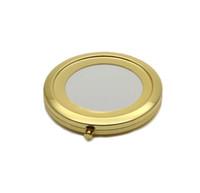 DIY Decro 18410-2 için Ayna çerçevesi Yüksek, büyüteç 70mm boş altın kompakt ayna Pock kompakt ayna