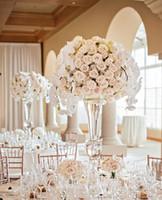 은색의 정신은 분명하지 않다) 파티 이벤트를위한 나팔꽃 꽃병, 슬리버 결혼식 테이블 중앙 장식품을위한 정신 꽃병